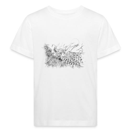 La panthère dans l'arbre - T-shirt bio Enfant