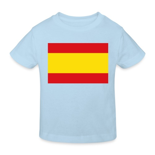 vlag van spanje - Kinderen Bio-T-shirt