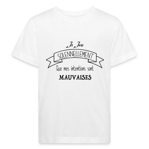 Je jure solennellement - T-shirt bio Enfant