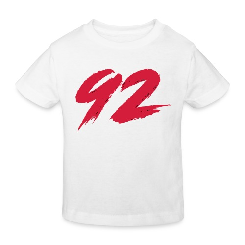 92 Logo 1 - Kinder Bio-T-Shirt