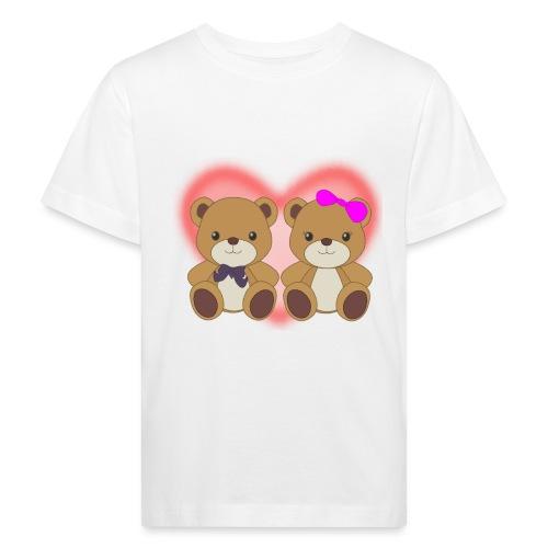 Orsetti con cuore - Maglietta ecologica per bambini
