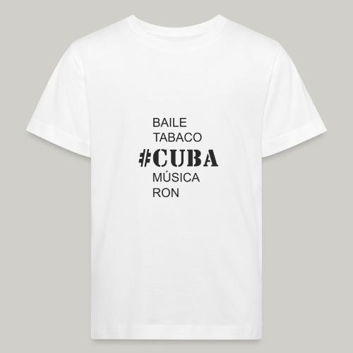 Cuba - Kinder Bio-T-Shirt