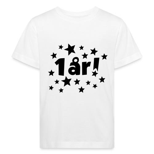 1 år! - Økologisk T-skjorte for barn