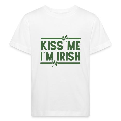 kiss me im Irish - Küss mich St. Patrick's Day - Kids' Organic T-Shirt
