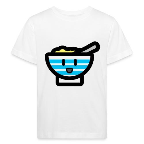 Cute Breakfast Bowl - Kids' Organic T-Shirt