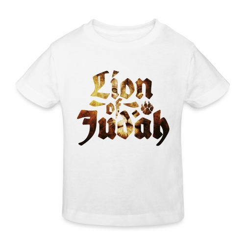 Lion of Judah - Rastafari Paw - Kinder Bio-T-Shirt