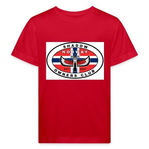 SHOC Norway Patch jpg - Økologisk T-skjorte for barn