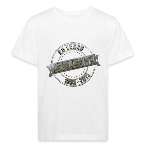 SASH! *** 20 Years *** - Kids' Organic T-Shirt
