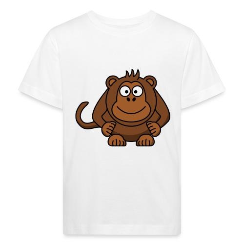 Monkey t-shirt - Organic børne shirt