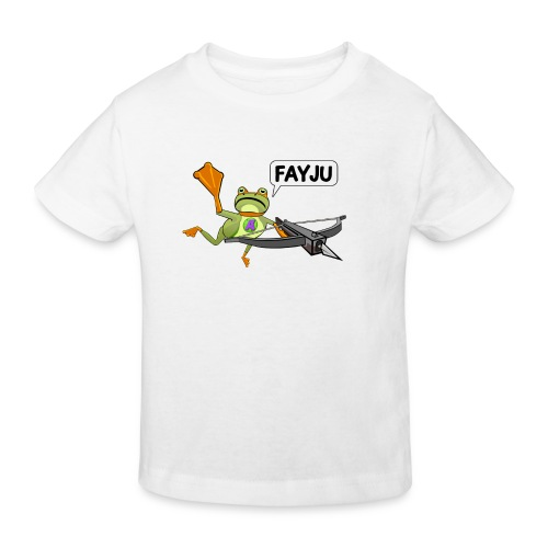 Amazing Frog Crossbow - Kids' Organic T-Shirt