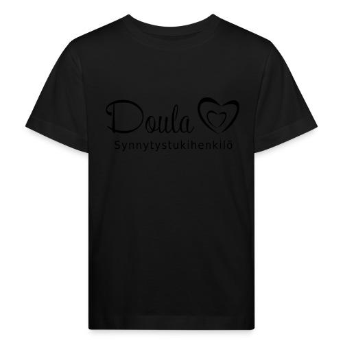 doula sydämet synnytystukihenkilö - Lasten luonnonmukainen t-paita