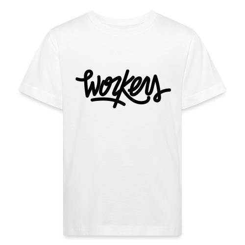 logo_noir Workers - T-shirt bio Enfant
