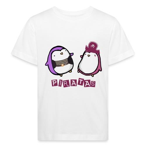 PINGUINOSPIRATAS - Camiseta ecológica niño