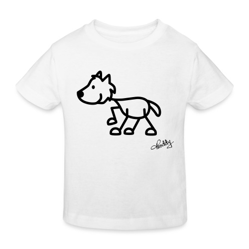 wolf - Kinder Bio-T-Shirt