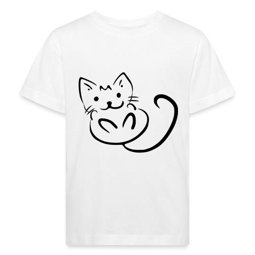 Baby Katze - Kinder Bio-T-Shirt
