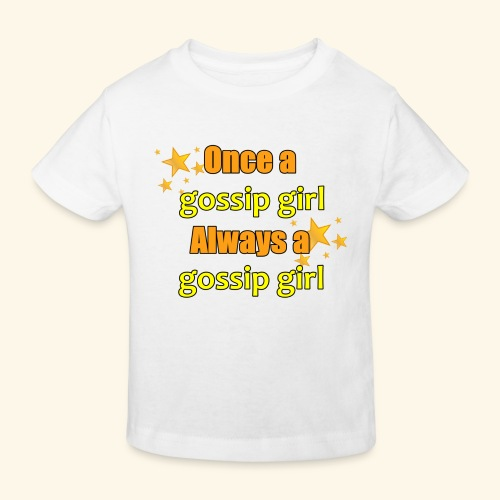 Gossip Girl Gossip Girl Shirts - Kids' Organic T-Shirt