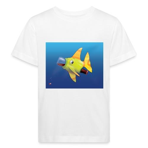 Greedy Fish - T-shirt bio Enfant