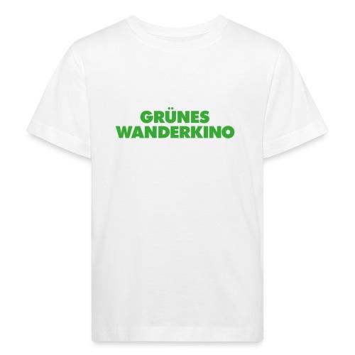 GRÜNES WANDERKINO grün - Kinder Bio-T-Shirt
