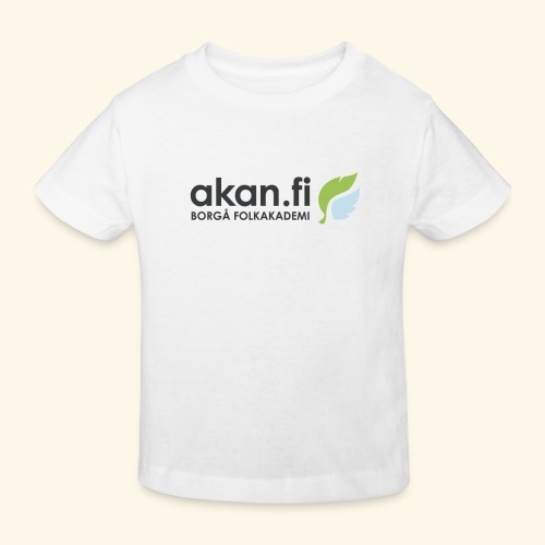 Akan Black - Ekologisk T-shirt barn