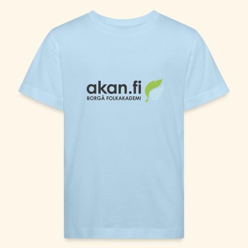 Akan Black - Lasten luonnonmukainen t-paita