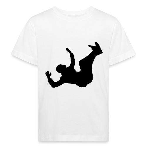 Fallender Mann - Kinder Bio-T-Shirt