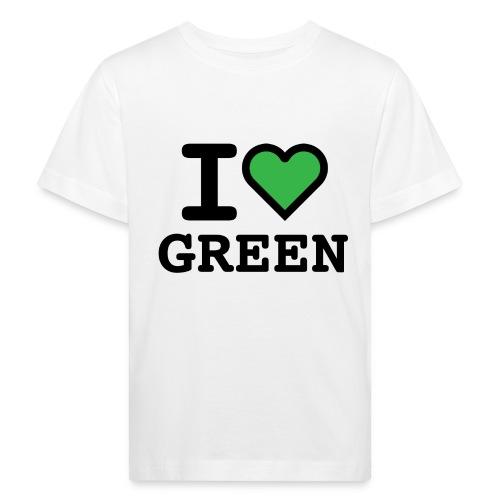 i-love-green-2.png - Maglietta ecologica per bambini