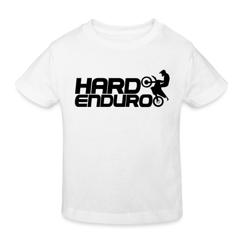 Hard Enduro Biker - Kinder Bio-T-Shirt