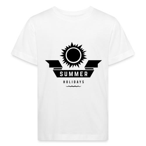 Summer holidays - Lasten luonnonmukainen t-paita