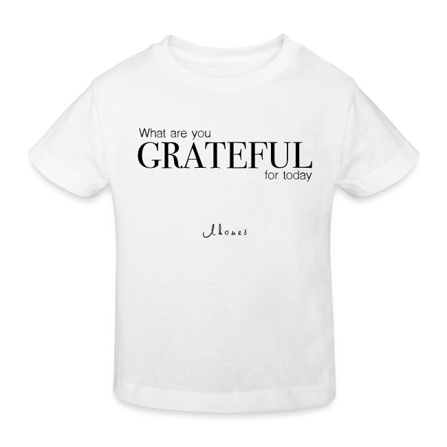 What are you GRATEFUL for today?