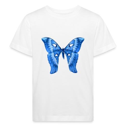 Herkules Falter Blau - Kinder Bio-T-Shirt
