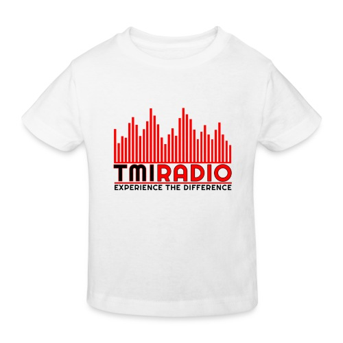 NEW TMI LOGO RED AND BLACK 2000 - Kids' Organic T-Shirt