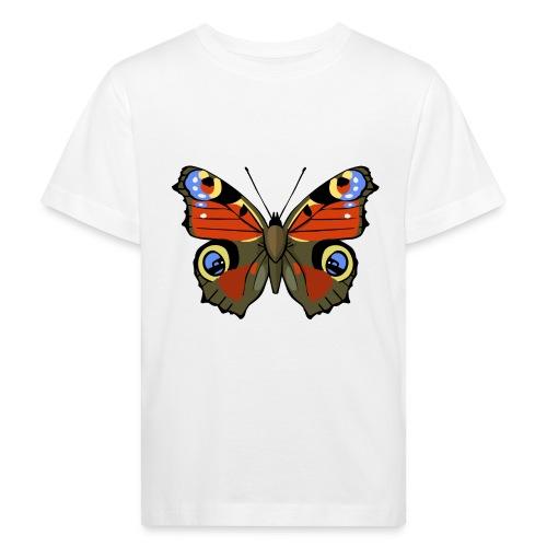 vlinder1_d - Kinderen Bio-T-shirt