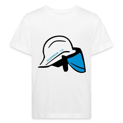 Feuerwehr Helm - Kinder Bio-T-Shirt