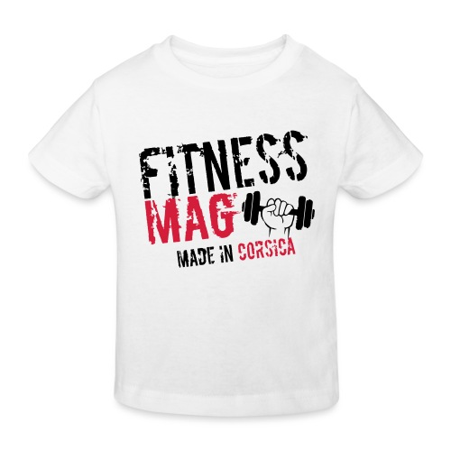 Fitness Mag made in corsica 100% Polyester - T-shirt bio Enfant