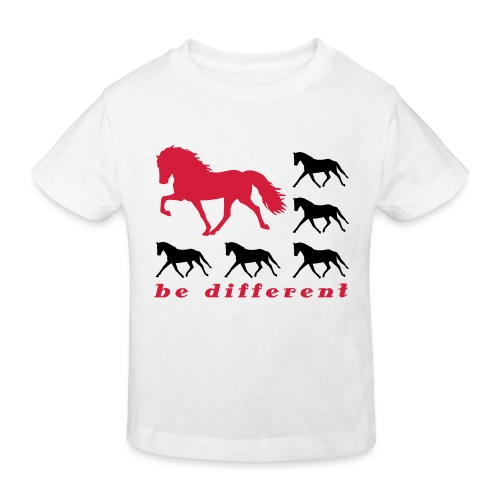 be different - Kinder Bio-T-Shirt