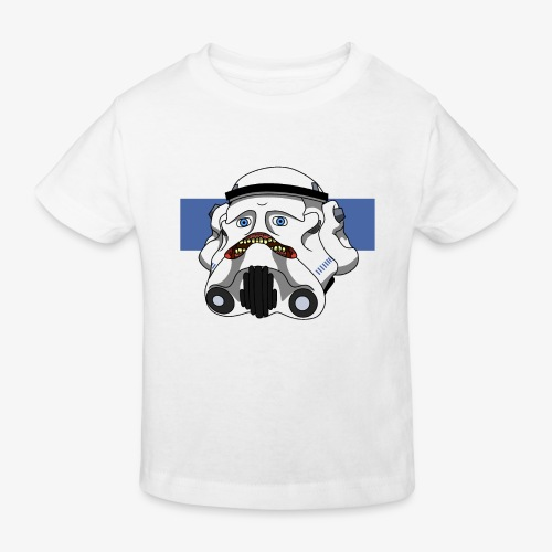 The Look of Concern - Kids' Organic T-Shirt