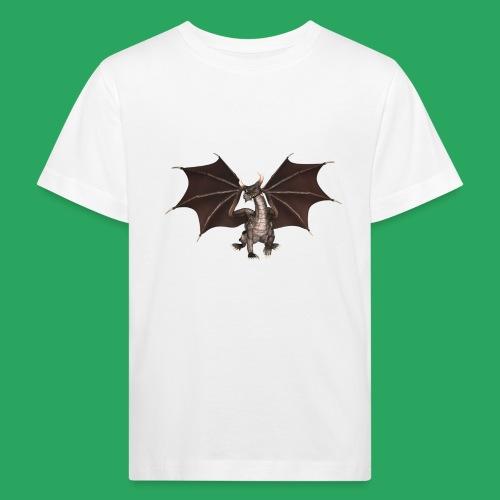 dragon logo color - Maglietta ecologica per bambini