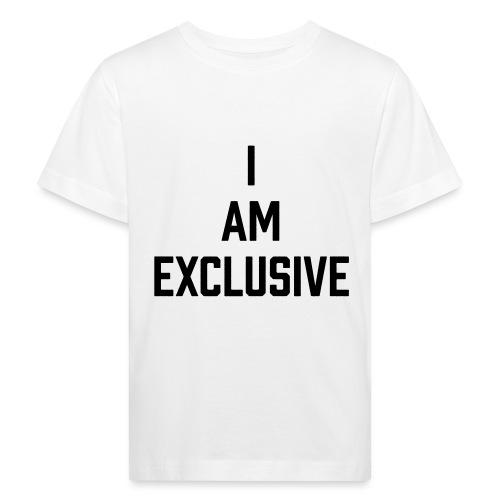 I am Exclusive - Kinder Bio-T-Shirt