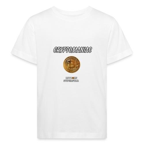 Cryptomaniac - Maglietta ecologica per bambini