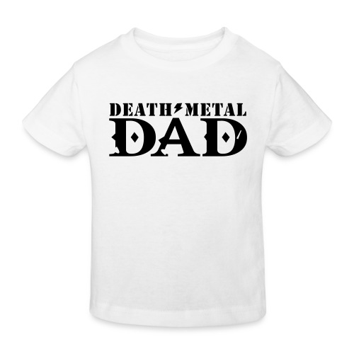 death metal dad - Kinderen Bio-T-shirt