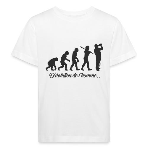 évolution homme (H) - T-shirt bio Enfant
