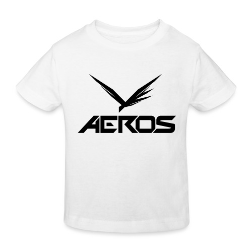 Aeros LOGO 2016 final - Kinderen Bio-T-shirt