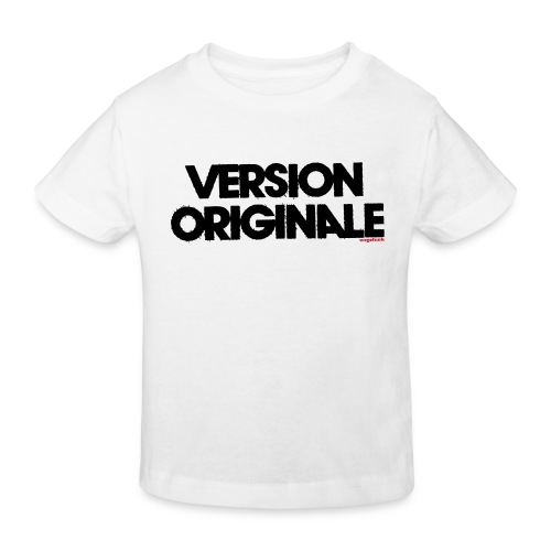Version Original - T-shirt bio Enfant