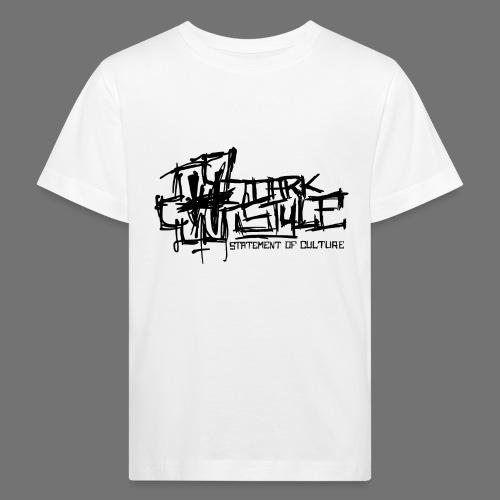 Tumma Style - Statement of Culture (musta) - Lasten luonnonmukainen t-paita