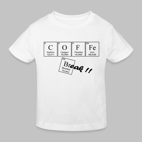 Coffee Break - Kids' Organic T-Shirt