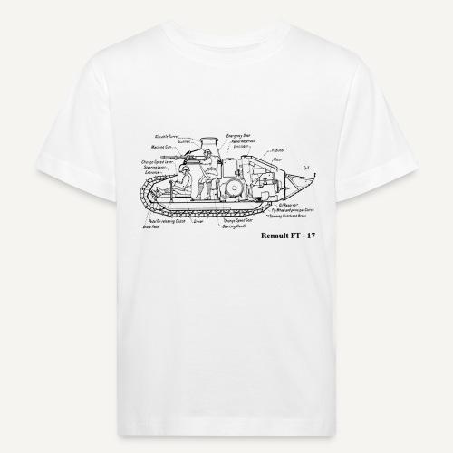ft17 - Ekologiczna koszulka dziecięca