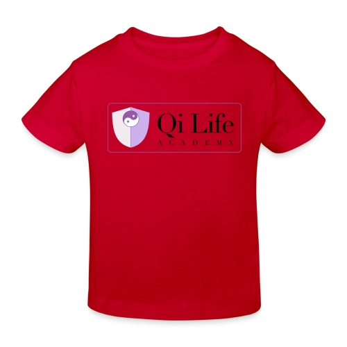 Qi Life Academy Promo Gear - Kids' Organic T-Shirt