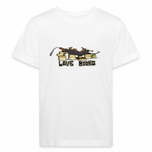 Love books - Ekologiczna koszulka dziecięca