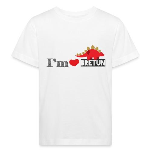 bretun negro - Camiseta ecológica niño