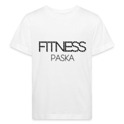 FITNESS PASKA - Lasten luonnonmukainen t-paita